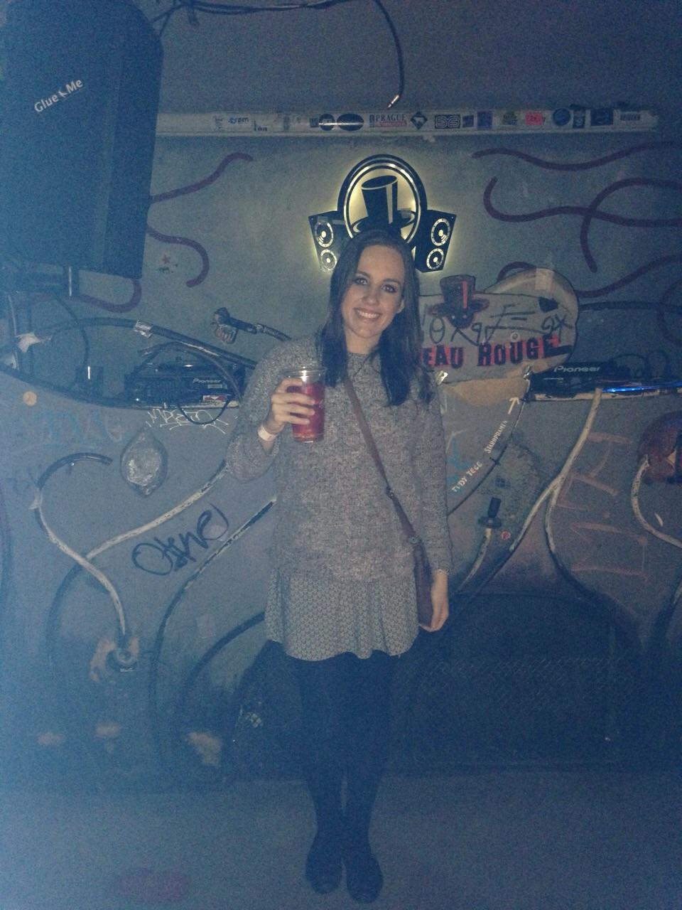 Primeiro bar do Pub Crawl (Foto: Mariana Gregorio)