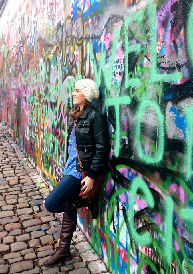 John Lennon Wall (Foto: Mariana Gregório)