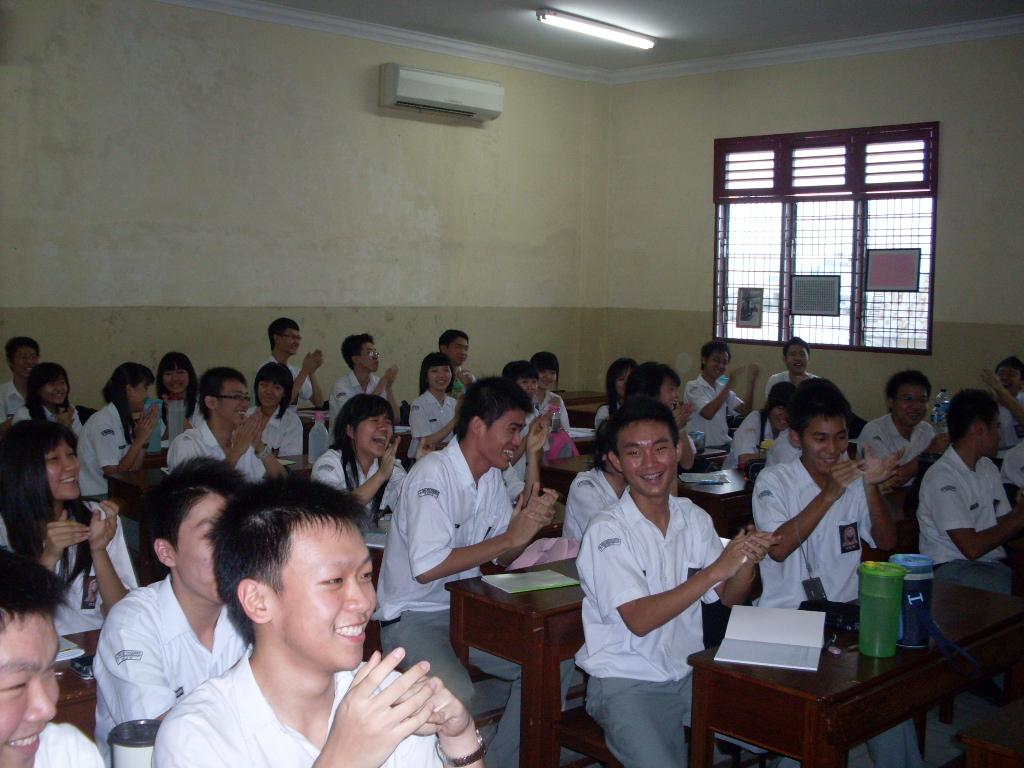 Primeiro dia de aula (Foto: Matheus Pinheiro de Oliveira e Silva)